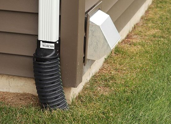 Downspout Underground Extension