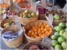 A farmer's markets in Sacramento